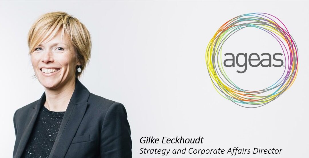 Interview Gilke Eeckhoudt, Strategy and Corporate Affairs Director at international insurer, Ageas